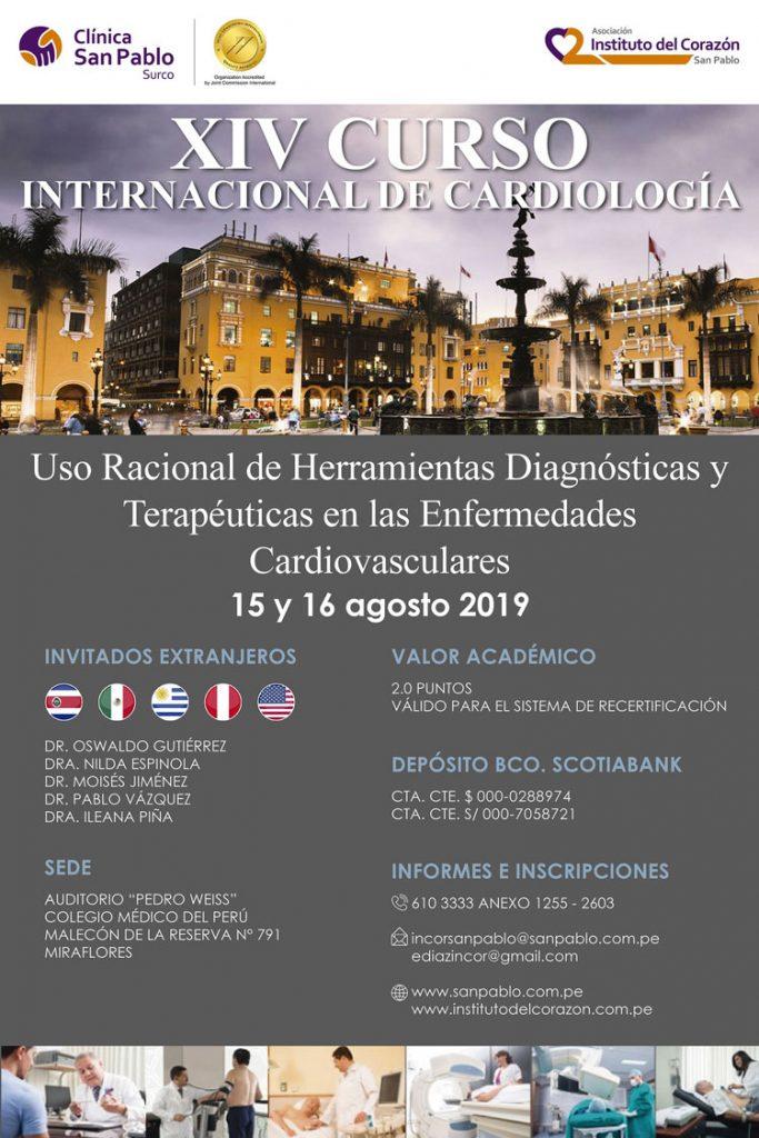 XIV Curso Internacional de Cardiología