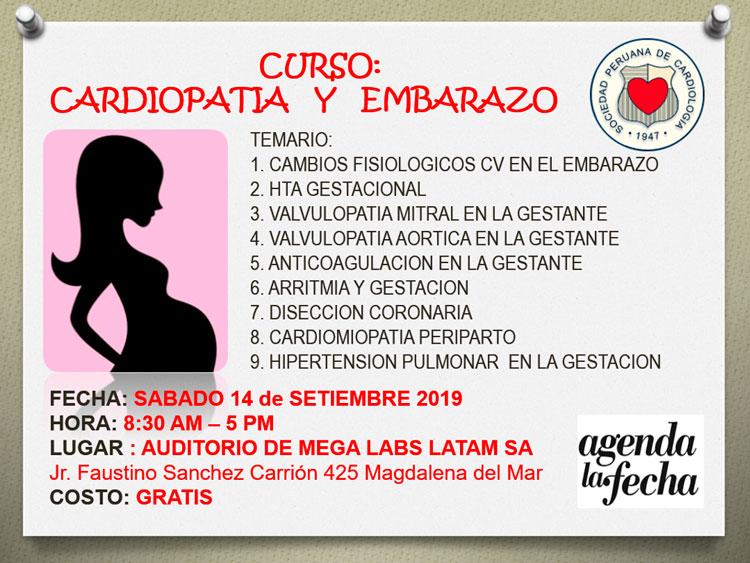 Curso Cardiopatía y Embarazo