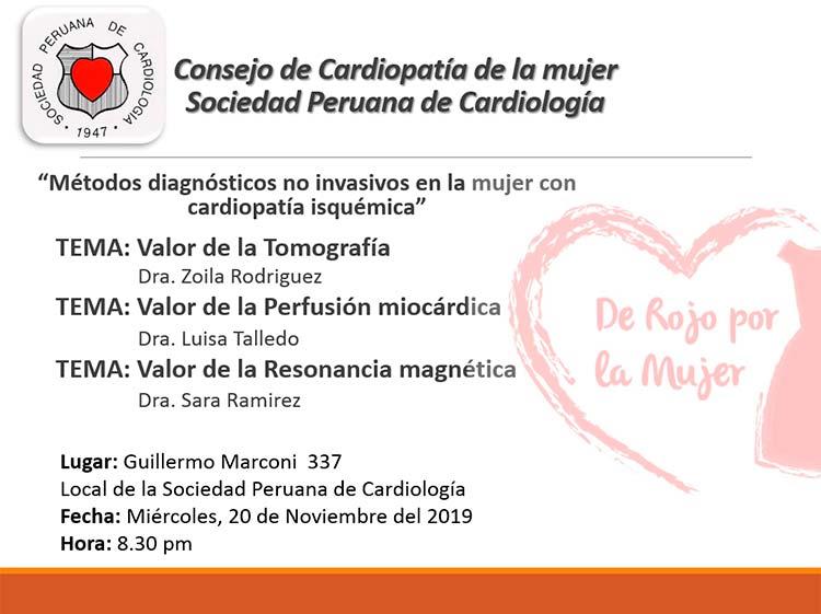 Consejo de Cardiopatía de la mujer – Noviembre