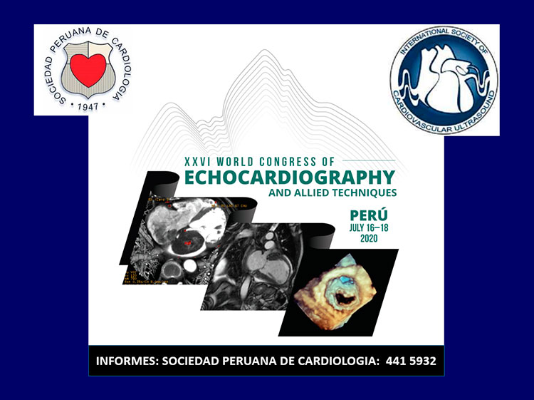 XXVI World Congress Of Echocardiography and Allied Techniques