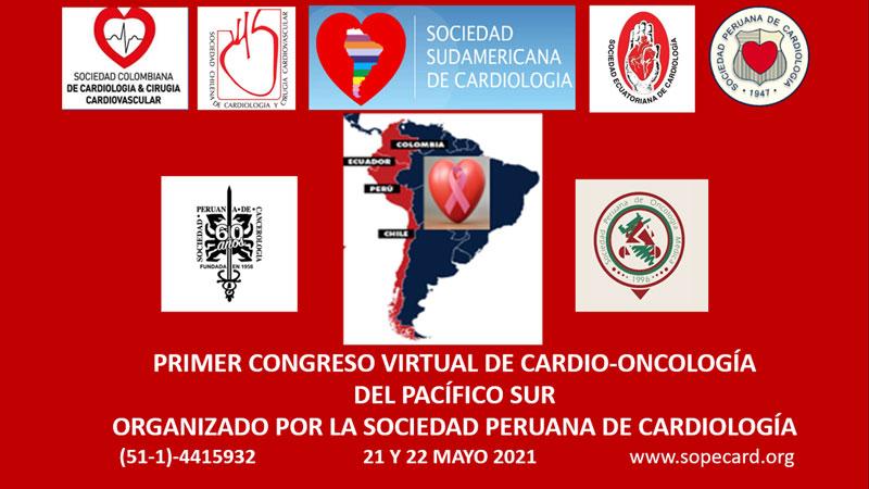 Primer Congreso Virtual de Cardio-Oncología del pacífico Sur